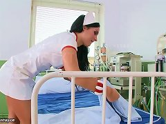 Free Porn Two Naughty Nurses Show What They Do On Their Breaks