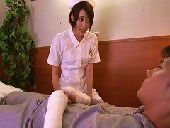 Free Porn Nurse Makoto Yuuiki Reducing Patient Pain By Plugging Cock In Her Pussy