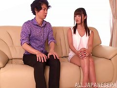 Free Porn Lean Japanese Teen Sucks A Dick And Sits Down On It