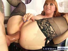 Free Porn Penny Gets Her Tight Asshole Destroyed By Huge Dick