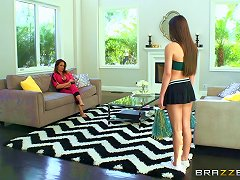 Free Porn Teen Lesbian Cheerleader Gets Fucked Roughly By A Strapon