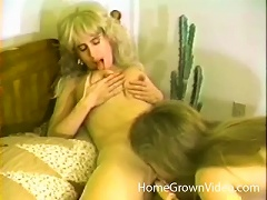 Free Porn Retro MILF Eaten Out By A Young
