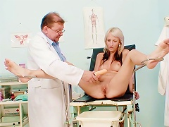 Free Porn Young Blonde Goes To Gynecologist