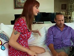 Free Porn Gorgeous Redhead With A Hairy Pussy Enjoying A Hardcore Anal Fuck