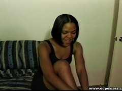 Free Porn Teenage Ebony Fingers Her Twat Ahead Of Hardcore Fucking With A Massive Shaft