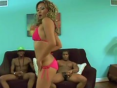 Free Porn Smutty Teen Amateur In Sexy Hot Pink Bra And Pant Endures A Big Dick