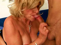 Free Porn Ardent Bosomy Mature Bbw Gives A Head To Slim Short Dick Of Young Lover