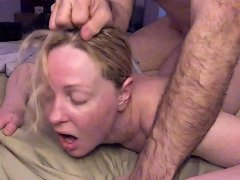 Free Porn Painal Cute Blonde Gets Her Ass Fucked W Vibrator Stuffed In Her Pussy