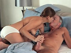 Free Porn Sexy Teen Lets Dad Finger Her Fuck Her She Swallows Cum Nuvid