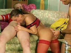 Free Porn Stockings Teen And Her Young Lovers Have Fun