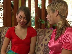 Free Porn Enchanting Girl On Girl Action With Two Immaculate Lesbians