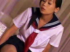 Free Porn Asian Teacher Succumbs To Schoolgirl Feet And Ass