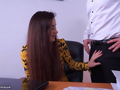 Free Porn Victoria J Enjoys Getting Her Cunt Drilled With Two Stiff Dicks