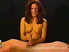 Free Porn Handjob After An Awesome Rubdown With A Beautiful Lusty Lady