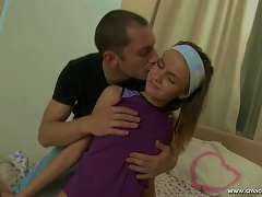 Free Porn Hot  Video With Slender Teen Gets Fucked From Behind