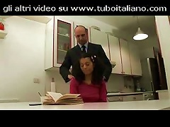 Free Porn Italian Girl Is Checked Out By An Older Guy On Her Young Pussy