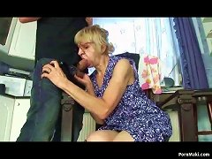 Free Porn Granny Prefers Banging With Young Guy