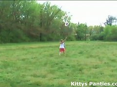 Free Porn Come Out In The Field And Help Me Fly My New Kite