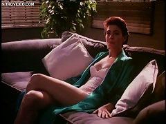 Free Porn Sensual Sean Young Wearing A Tight White  And Sexy