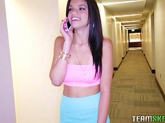 Free Porn Black Haired Teen Bitch With Perky Tits Is A Natural Man Pleaser