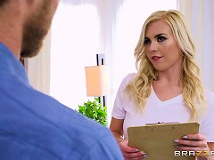 Free Porn Sexy Blonde Summer Day Wants To Bounce On A Lover's Big Boner