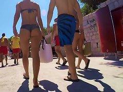 Free Porn Amazing Two Crotian Asses In Bikini
