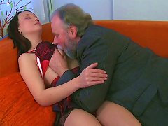 Free Porn Shy Teen Chick Sveta Can't Resist Horny Old Fart So She Sucks His Dick