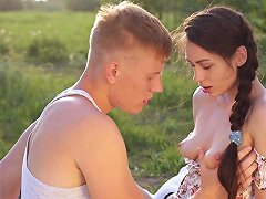 Free Porn Gorgeous Teen Arwen Is Finally Ready To Have Sex In The Wilderness!