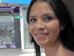 Free Porn Latin Sweetie Sindy Rose Flashes Her Tits In A Car