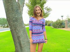 Free Porn Outdoors Pussy Masturbation With One Of The Cutest Teens Ever