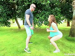 Free Porn Bald Head Stud Undresses His Wife Outdoors For A Thorough Smashing In A Close Up Shoot