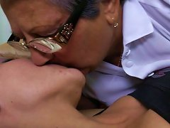 Free Porn Hot Old And Young Lesbians Licking Ass And Eating Pussy