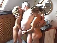 Free Porn Old Dude With Two Young Hos
