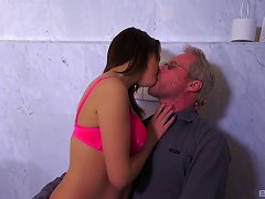 Free Porn Mature Man Attacked By A Cock Craving Brunette Woman