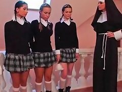 Free Porn Three Schoolgirls And A Nun Txxx Com