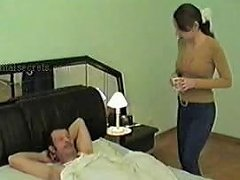 Free Porn Dad Fuck His Daughter's Friend For Breakfast Free Porn Aa
