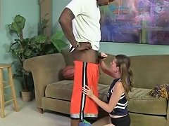 Free Porn White Cheerleader Takes The Black Cock Porn Be Xhamster