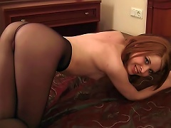 Free Porn Teen Redhead With Tiny Tits Solo