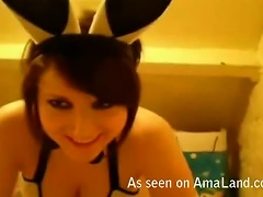 Free Porn Sexy Teen Gets Fucked Wearing Cute Bunny Ears