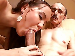 Free Porn Tiny Tittied Teen Getting Her  Drilled By An Older Cock