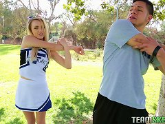 Free Porn A Desperate Cheerleader Fucks Her Coach To Get On The Squad
