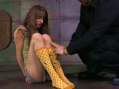 Free Porn Nice Teen Is Tied Up And Punished By One Perverted Guy