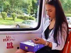 Free Porn Spy Teens Girl In Tram Romanian