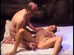 Free Porn Hot Teen Fucks Old Fart