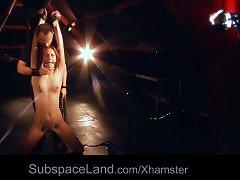 Free Porn Teen Sub Girl Humiliation BDSM Training Is Fucked Ball-gag