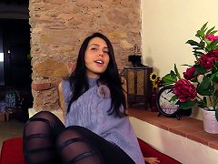 Free Porn Adorable Dark Haired Girl Loves When Men Lust Over Her Feet
