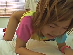 Free Porn Light Haired Japanese Natural Gal Rina Shibuya Is Fingered And Fucked With Toy