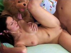 Free Porn Filthy Brunette Hoe Simona Gives A Head In Pose 69