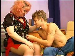 Free Porn Teen Guy Fucking A Hot Mature Fatty Hard
