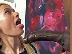 Free Porn Playful Blonde Bimbo Kennedy Kressler Sucks Yummy Bbc